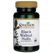 Swanson, Black Walnut Hulls, 500mg, 60 Kapseln