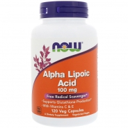Alpha Lipoic Acid 100 mg 120 veg. Kapseln