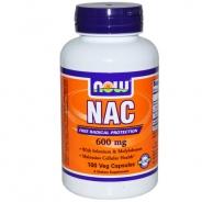 Now Foods, NAC, (N-Acetyl Cysteine), 600 mg, 100 Veggie Caps