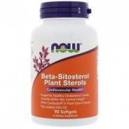 Beta-Sitosterol Plant Sterols, 200mg Beta Sitosterol, 90 Softgels