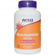 Niacinamide, 500 mg, 100 Kapseln
