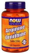 Arginin & Ornithin -  100 Kapseln