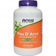 Pau D Arco, Lapacho, 500 mg, 250 Kapseln