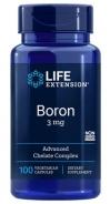 Life Extension , Boron , 3mg , 100 Kapseln , vegetarisch , genfrei