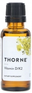 Thorne Research, Vitamin D/K2, 1 fl oz (30 ml)