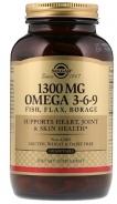 Solgar, Omega 3-6-9, 1,300 mg, 120 Softgels