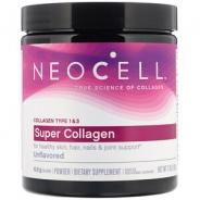 Neocell Super Collagen Type 1 & 3, Pulver, 198g