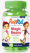 ActiKid Magic Beans Multi-Vitamin Apple 90 Kaubonbons