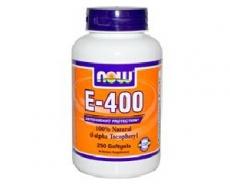 E-400 IU 100 % natürliches d - alpha Tocopheryl 250 Softgels