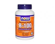 B-100, vegetarisch & zeitverzögert, 100 Tabletten