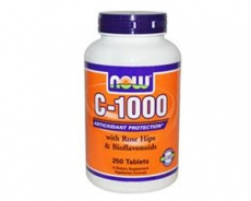 C-1000 mit Hagebutte & Bioflavonoide - 250 Tabletten