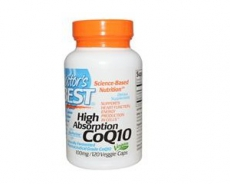 High Absorption CoQ10, with BioPerine, 100 mg, 120 Veggie Caps