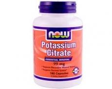 Potassium (Kalium) Citrat, 99 mg, 180 Kapseln