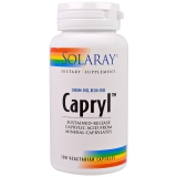 Caprylic Acid Solaray, 100 vegetarian Caps.