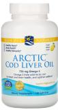 Nordic Naturals, Arctic Cod Liver Oil Soft Gels, 1000 mg, Zitronengeschmack, 180 Soft Gels