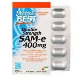Doctors Best, SAM-e 400, Double-Strength, 30 Tabletten