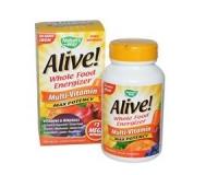 Alive! Mega Nahrungs-Energizer (ohne Eisenzusatz) 90 Tabletten