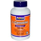 L-Carnosine, 500 mg, 100 Vcaps