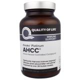 Kinoko Platinum AHCC, Immune Support, 750 mg, 60 Veggie Caps!