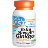 Doctors Best, Extra Strength Ginkgo, 120 mg, 360 Veggie Caps
