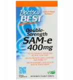 Doctors Best, SAM-e 400, Double-Strength, 60 Tabletten
