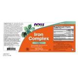 Iron Complex, 27mg, 100 Tabletten