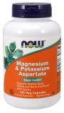 Magnesium & Potassium Aspartate 120 Veg. Kapseln