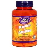 Arginine & Citrulline, 500 mg /250 mg, 120 Veg Kapseln