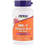 MK-7, Vitamin K-2, 100 mcg, 120 Veggie Kapseln