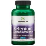 Selenium (L-Selenomethionine) 100mcg, 300 Kapseln