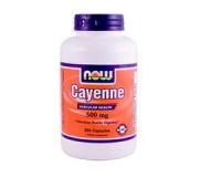 Cayenne, 500 mg, 100 Kapseln
