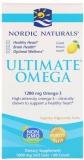 Nordic Naturals, Ultimate Omega, Zitronen Geschmack, 1280mg, 60 Weichkapseln