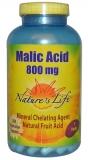Natures Life, Malic Acid, 800 mg, 250 vegetarische Kapseln