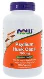 Now Foods Flohsamenschalen, Psyllium Husk 700 mg, 180 Kapseln, glutenfrei