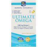 Nordic Naturals, Ultimate Omega, Zitronen Geschmack, 1280mg, 180Weichkapseln