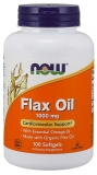Flax Oil 1000 mg - Leinsamenöl/Lignan - 100 Softgels