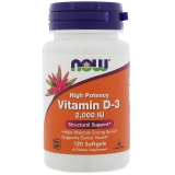 NOW Foods,  D3, 2000 IU (2-tagesdosis), 240 Softgels