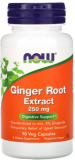 Now Foods, Ginger Root Extract, 250 mg, 90 Veg Kapseln