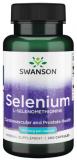 SWANSON SELENIUM (L- SELENOMETHIONIN) 100mcg - 200 Kapseln