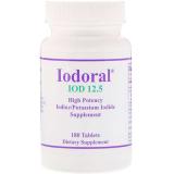 Optimox Corporation, Iodoral (Jod und Kaliumiodid), 12,5mg, 90 Tabletten