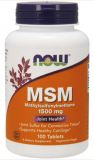 MSM 1500 mg, 100 Tabletten