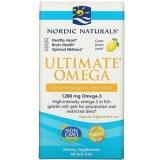 Nordic Naturals, Ultimate Omega, Lemon, 1280 mg, 60 Soft Gels