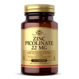 Solgar, Zink-Picolinat, 22mg, 100 Tabletten