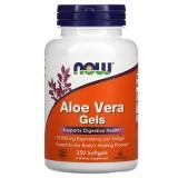 Now Foods, Aloe Vera Gels, 250 Softgels (nur 1 Dose!)