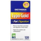 Enzymedica, Lypo Gold, 120 Kapseln