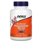 Now Foods, Sunflower Phosphatidyl Serine, 100 mg, 120 Veggie Softgels