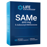 Life Extension, SAMe, 400 mg, 60 Tabletten