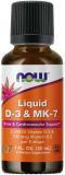 Now Foods, Liquid D-3 & MK-7, 30ml