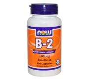 B-2 100 mg Riboflavin - 100 Kapseln