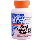 Best Alpha-Lipoic Acid 600, 600 mg, 60 Veggie Caps